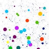 Tache abstraite color?e des points, vecteur illustration stock