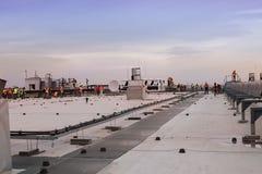 Tache d'aéroport de Sheremetievo, Moscou Images stock