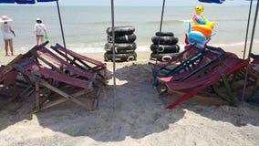 Tache de détente chez long Hai& x27 ; plage de s images stock