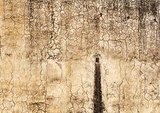 Tache de l'eau sur un mur dans Amber Fort Images stock