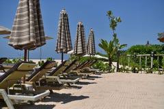 Tache de plage Photos libres de droits