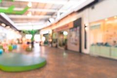tache floue abstraite dans le centre commercial Photo stock