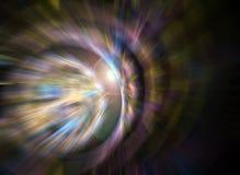 Tache floue abstraite de fractale Image libre de droits