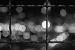 Tache floue B&W photographie stock libre de droits