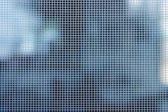 Tache floue blanche de maille photographie stock libre de droits