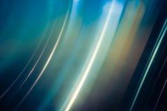 Tache floue bleue Photos libres de droits