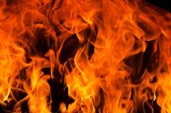 Tache floue de flamme Images stock