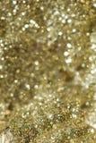 Tache floue de fond d'or Photos libres de droits