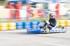 Tache floue de kart de course photo libre de droits