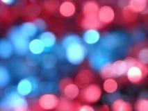 Tache floue de lumières de parc Photos libres de droits