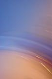 Tache floue de mouvement bleue fraîche Photos stock