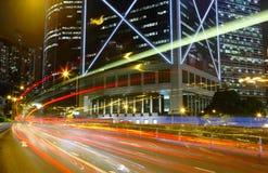 Tache floue de mouvement de circulation de vitesse Photo libre de droits