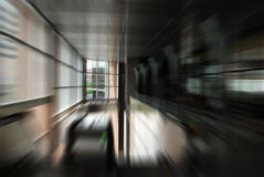 Tache floue de mouvement urbaine abstraite Image libre de droits