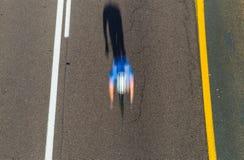 Tache floue de recyclage de vitesse au-dessus Photo libre de droits