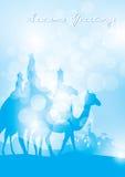 Tache floue de Reyes de rayons Images libres de droits