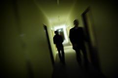 Tache floue de silhouette Photos libres de droits