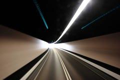 Tache floue de tunnel photos stock