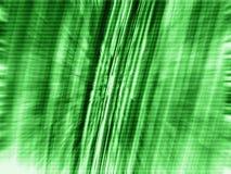 Tache floue de zoom de vert de la matrice 3d Image libre de droits