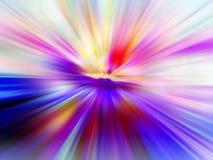 Tache floue superbe de couleur Images libres de droits