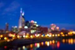 Tache floue tirée de Nashville photos stock