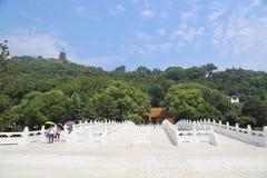 Tache scénique de langshan province dans Nantong, Jiangsu, Chine Photographie stock