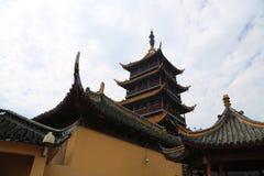 Tache scénique de langshan province dans Nantong, Jiangsu, Chine Photos stock