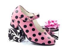 taches de chaussure Photos stock