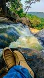 Taches de nature et de forêt chez Phulabani, Ganjam photo libre de droits
