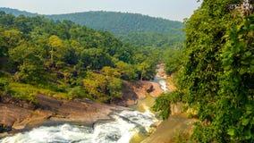 Taches de nature et de forêt chez Phulabani, Ganjam images stock