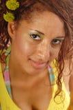 Taches de rousseur d'été Images libres de droits