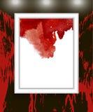 Taches de sang, éclaboussure de sang Photo libre de droits