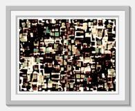 Taches effilées de couleur Images stock