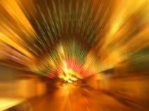 Taches floues d'éclairage routier Photo stock