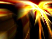 Taches floues d'incendie Image libre de droits