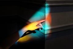 Taches lumineuses colorées photo libre de droits