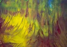 Taches lumineuses d'aquarelle Images stock