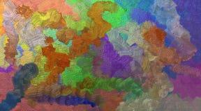Taches lumineuses d'aquarelle Photo stock