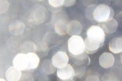 Taches pentagonales brillantes de lumière Images libres de droits