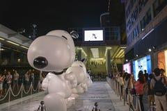 Taches scéniques célèbres à Hong Kong Photographie stock libre de droits