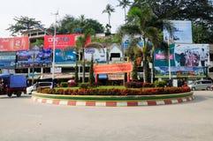 Tachileik Myanmar Royalty Free Stock Photography