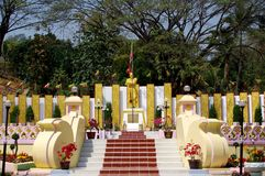 Tachilek Monument Royalty Free Stock Photo