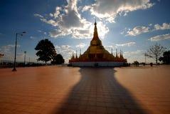 Tachilek Pagoda Shwedagon. Obraz Royalty Free