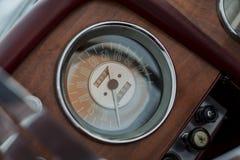 Tachimetro d'annata Fotografia Stock Libera da Diritti