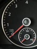 Tachimetro dell'automobile Immagine Stock