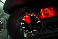 Tachimetro dell'automobile Fotografia Stock