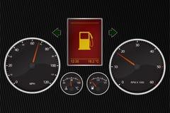 Tachimetro dell'automobile Fotografie Stock