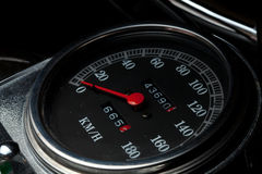 Tacho da motocicleta Imagens de Stock Royalty Free
