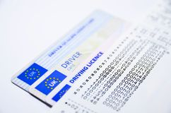 Tachograph print royalty free stock images