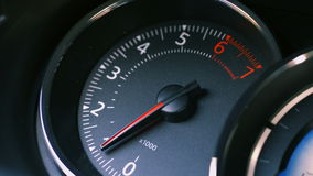 Tachometer. Тachometer car. Movement arrow up