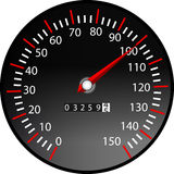 Tachometer. A illustration of a tachometer Royalty Free Stock Images